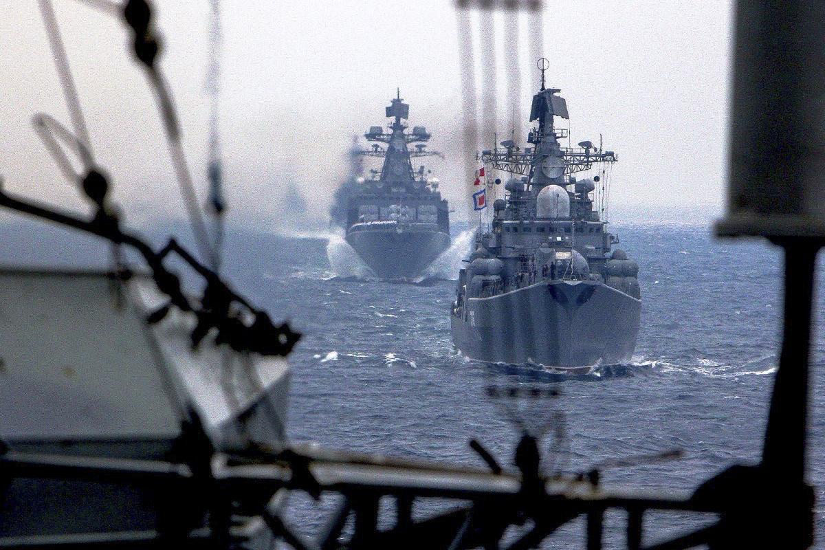 Россия активизировалась в Черном море