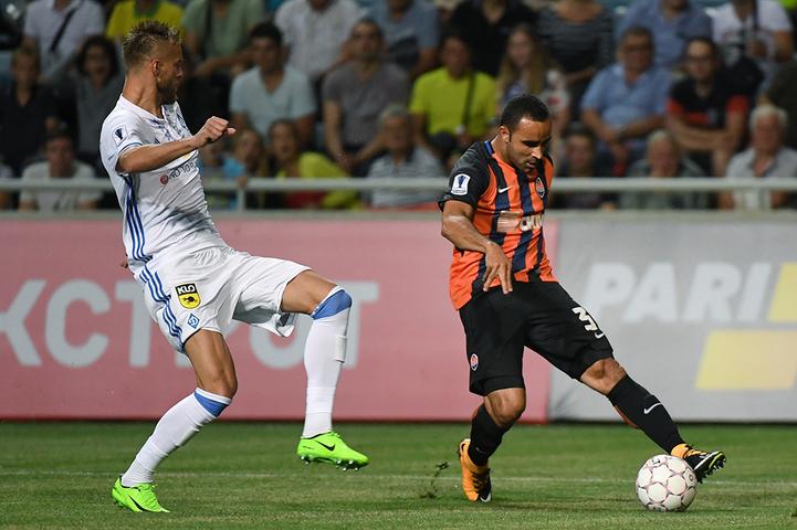 Лидеры украинского футбола встречались уже во втором туре чемпионата