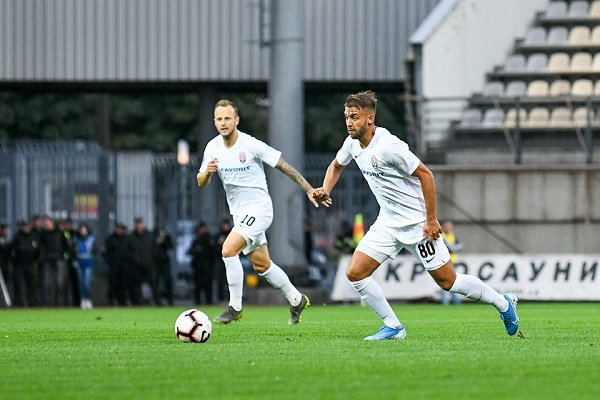Луганчани програли іспанському клубу в першому матчі за вихід в групову стадію Ліги Європи