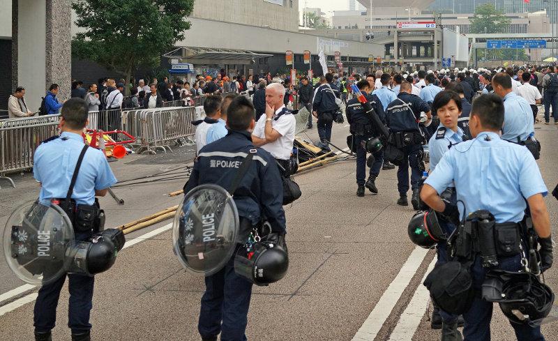 Сегодня был разобран главный лагерь демонстрантов