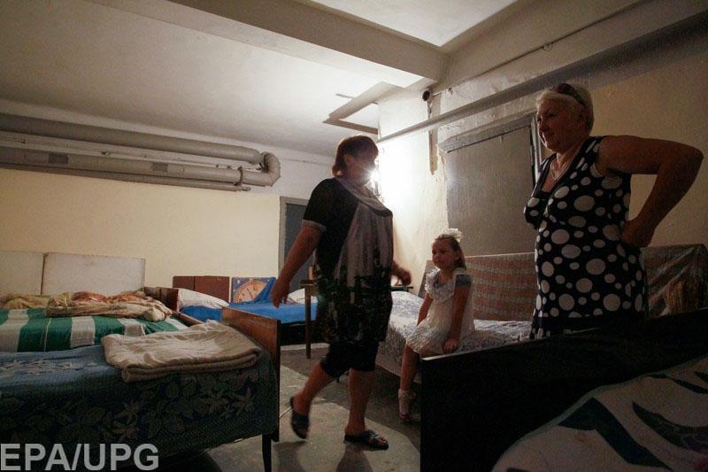 Местные жители говорят о 450 российских морских пехотинцах