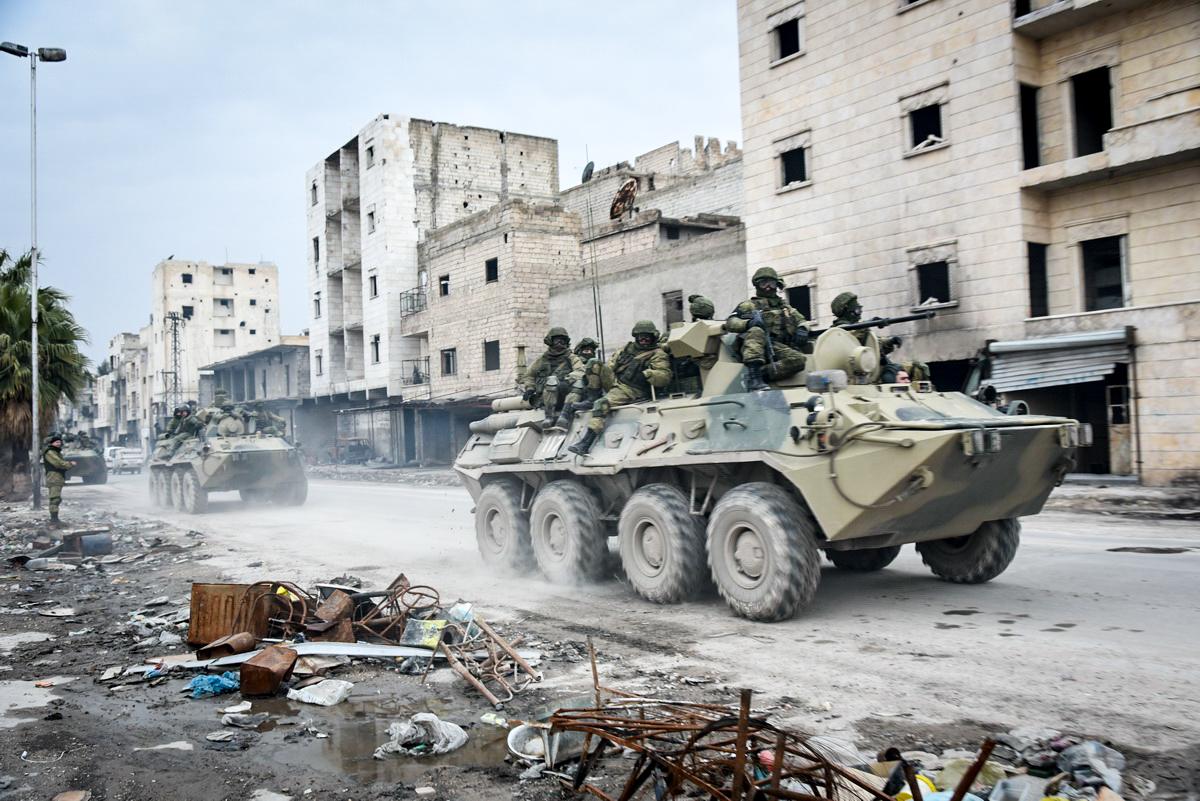 Москва уже отозвала домой часть войск из охваченной войной Сирии