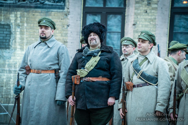 Киев реконструкция боя за арсенал