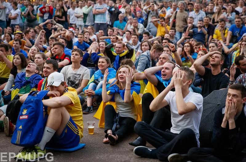 Блогеры указывают на безвольное выступление сборной Украины