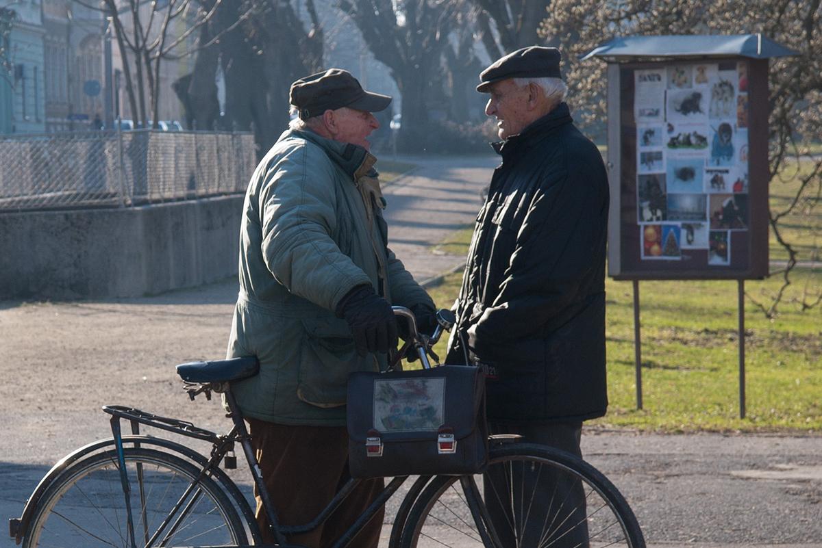 Пенсионный возраст в Украине один из самых низких в Европе