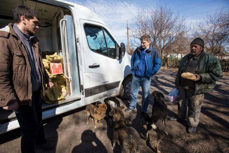 Несмотря на многочисленную гуманитарную помощь, антиукраинские настроения тут не ослабевают