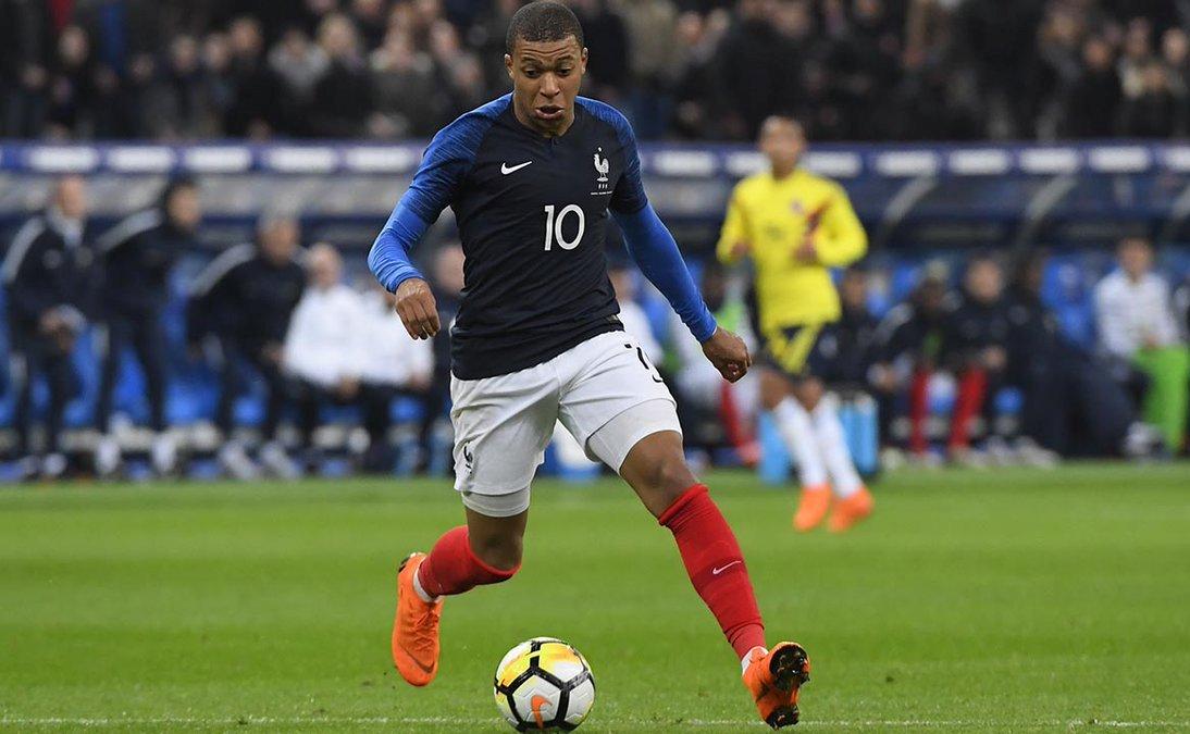 Сборные Франции и Италии встречались в товарищеском матче
