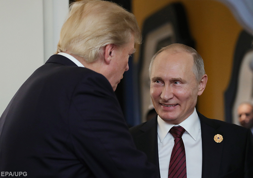 Візит Путіна до Білого Дому потрібен як Трампу, так і Заходу в цілому