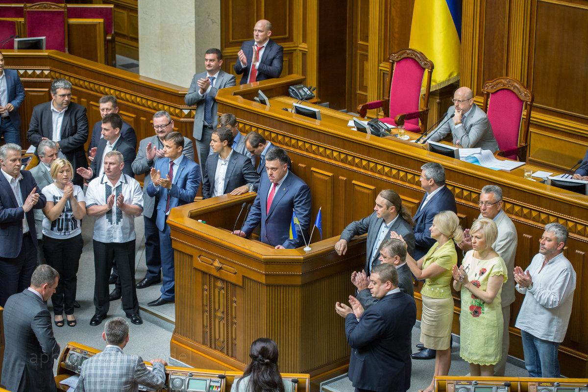 Соратники Петра Порошенко запустили механизм роспуска Верховной рады
