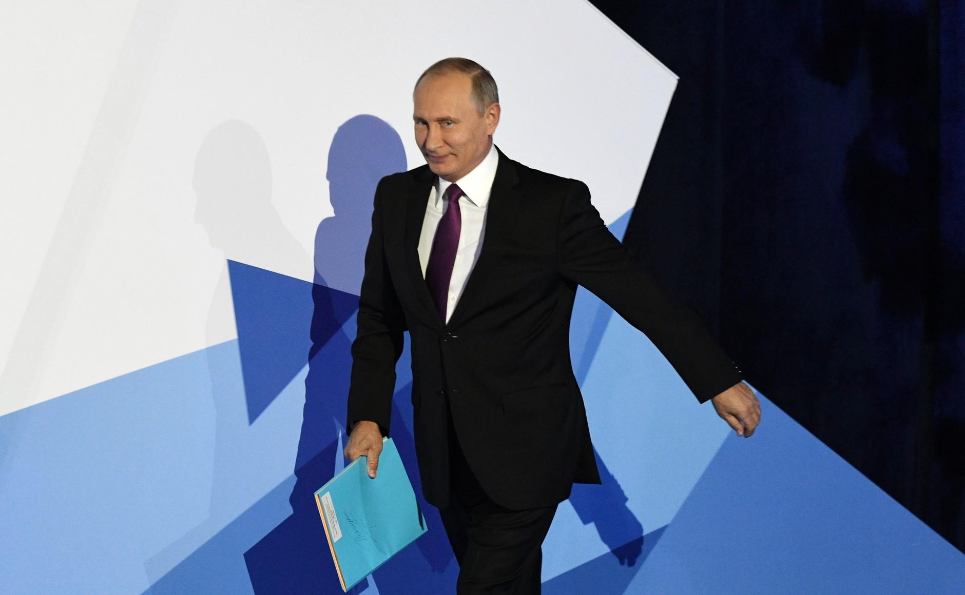 Путин пытается показать себя борцом за мир во всем мире