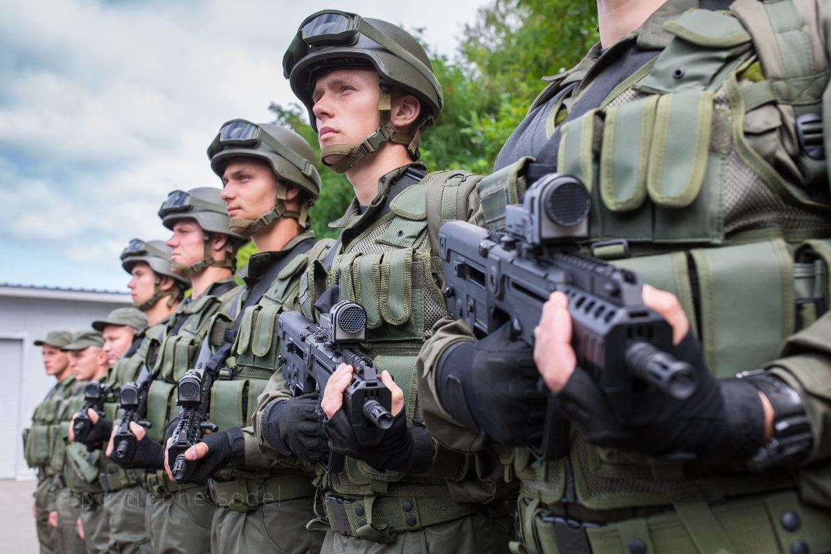 Кабмин подготовил изменения в знаки различия на форме бойцов Нацгвардии