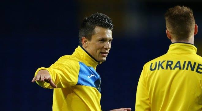 Сборная Украины провела товарищеский матч в Италии