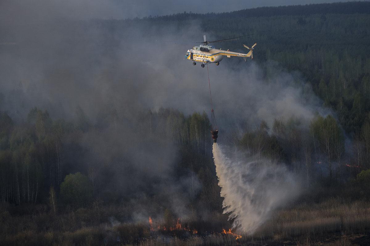Пожар — сильнейший с 1992 года
