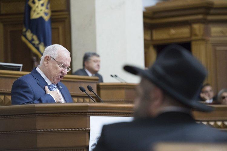 В Украине слова израильского президента об ОУН сочли оскорбительными