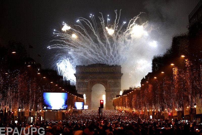 Новый год во всех странах 2017