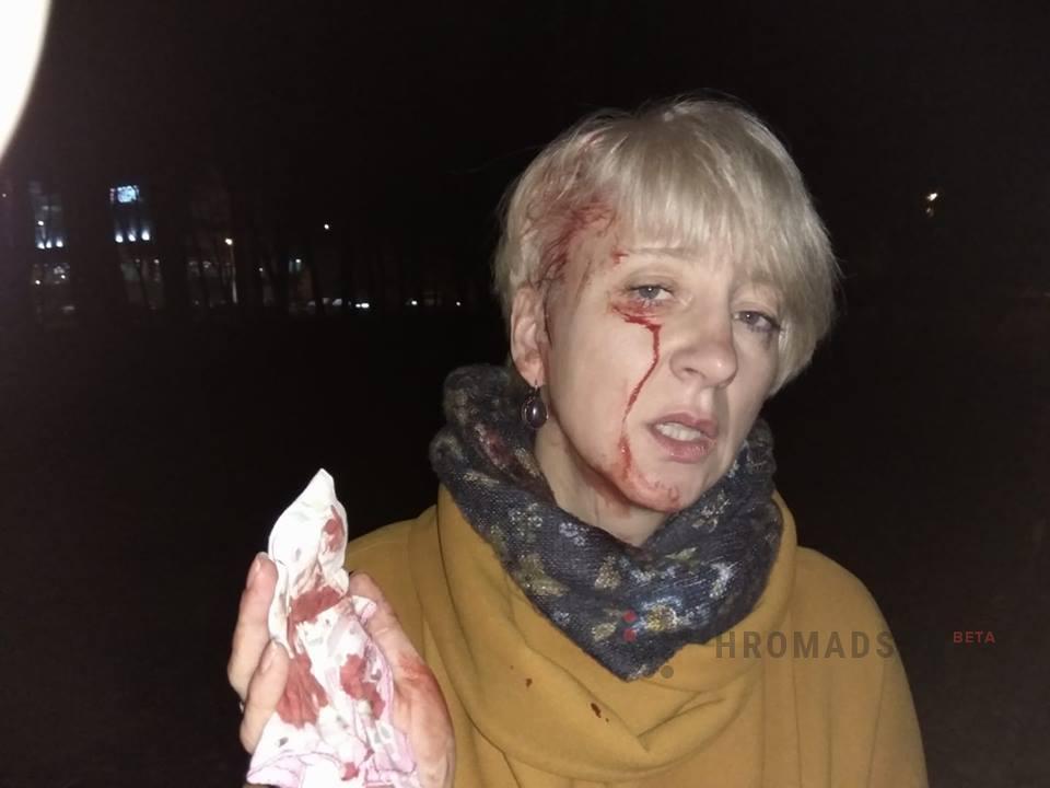 ВПолтаве избили судью, которая заявляла, что мэр хотел ееподкупить