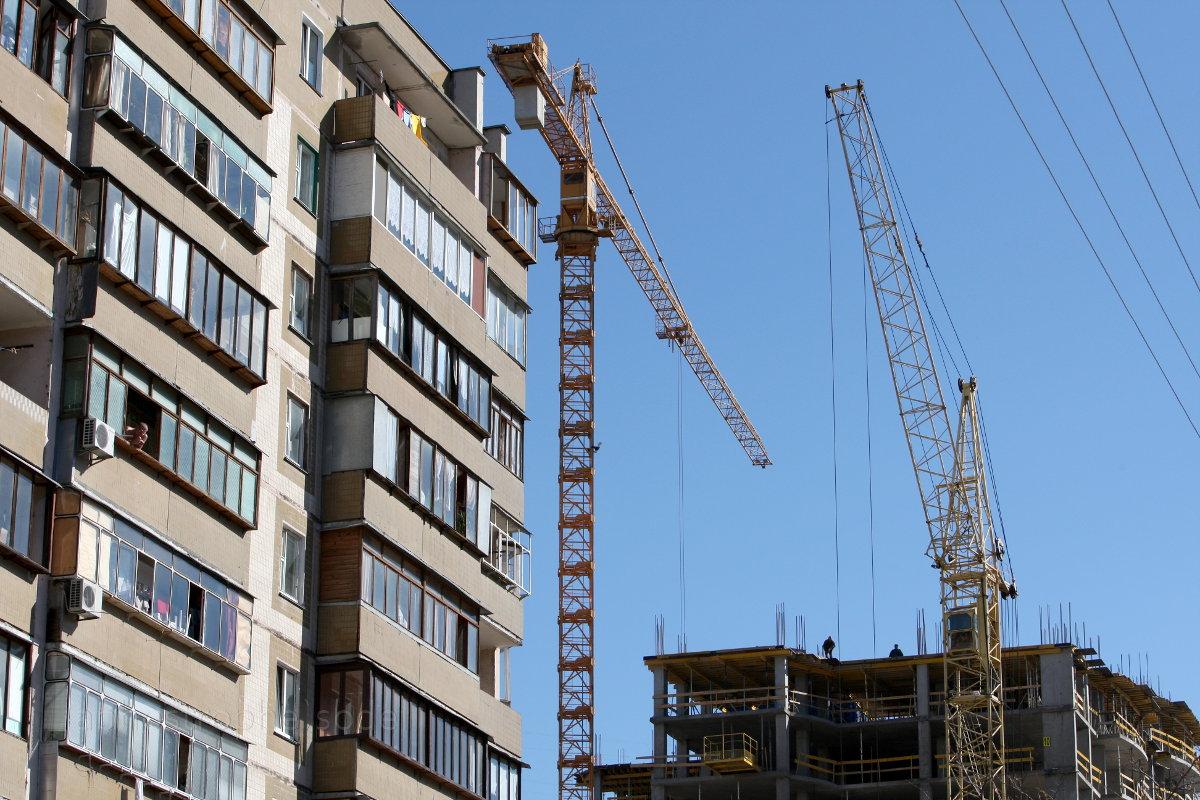 В первом квартале в Украине продано минимальное количество жилья