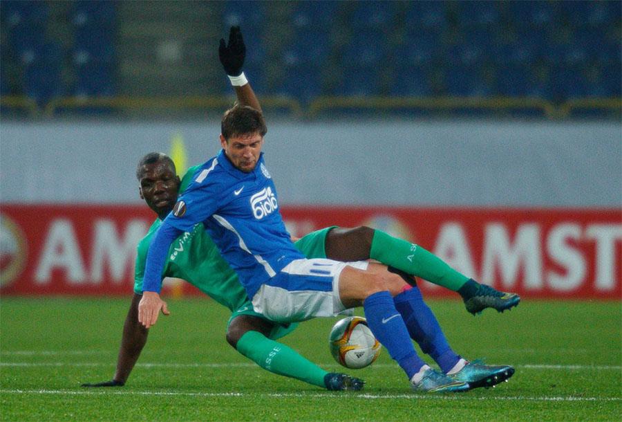 В Днепропетровске 22 октября украинская команда потерпела первое поражение в евросезоне