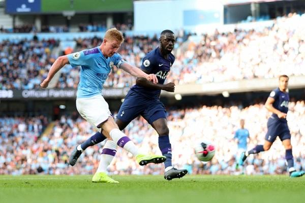 Тоттенхэм обыграл Манчестер Сити в матче 25-го тура чемпионата Англии