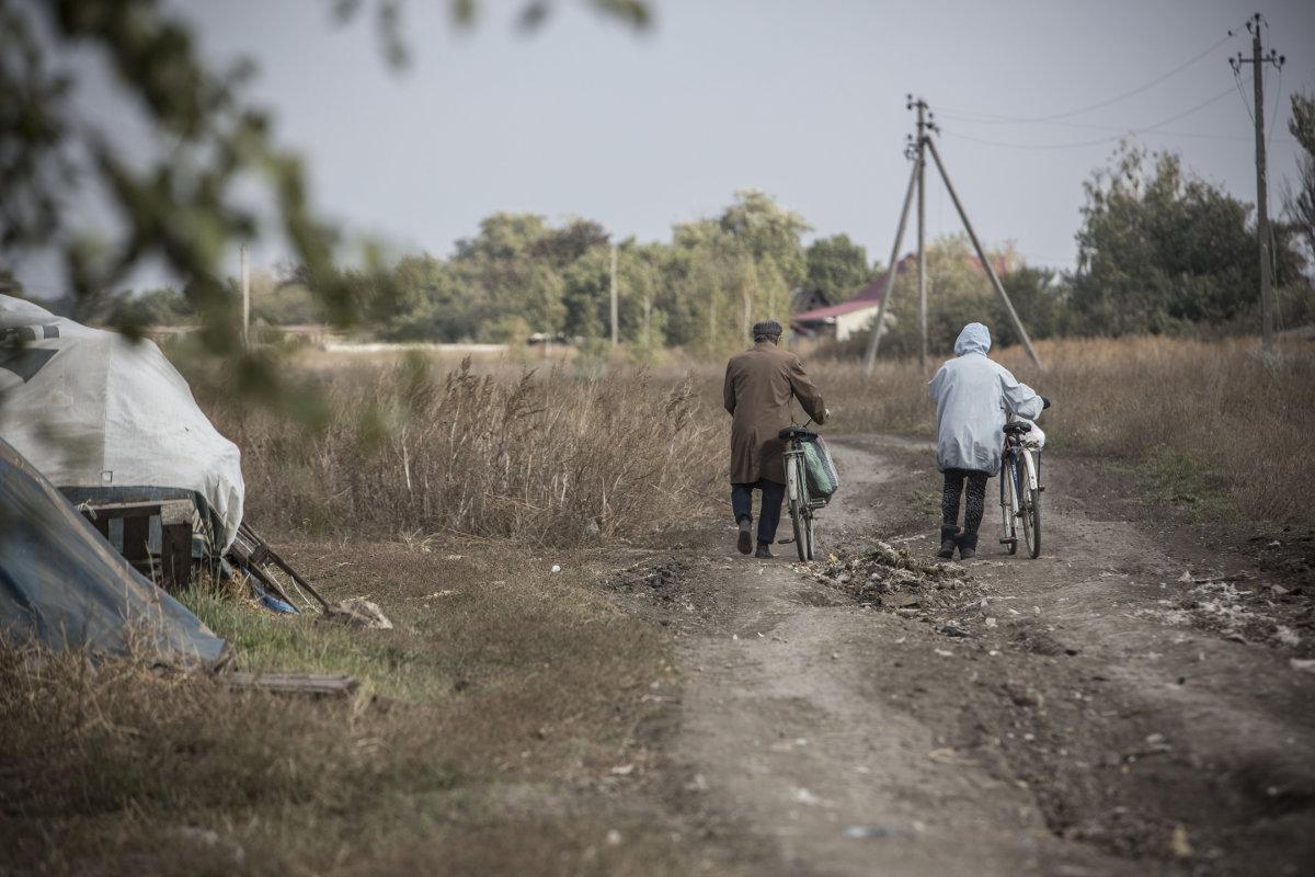 Из-за войны в прифронтовых селах царит атмосфера средневековья