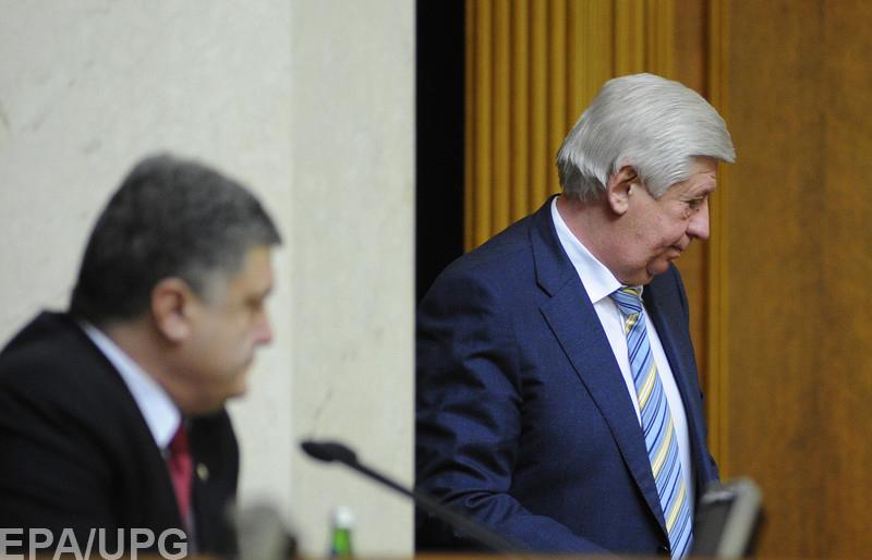 Почему экс-генпрокурор решил судиться с парламентом и Порошенко