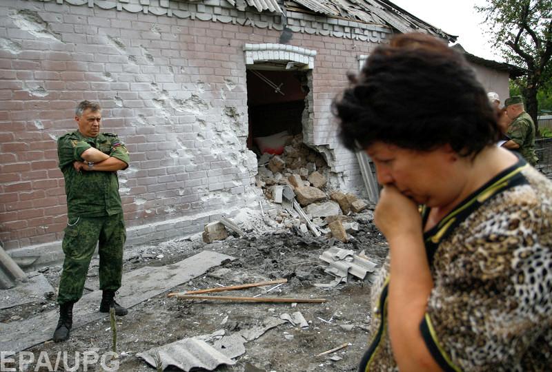 Жители Донбасса утверждают, что боевики не имеют сил для того, чтобы атаковать позиции ВСУ