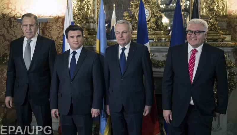 """Министры иностранных дел """"нормандской четверки"""" обсудят в Берлине выборы на Донбассе и обмен военнопленными"""