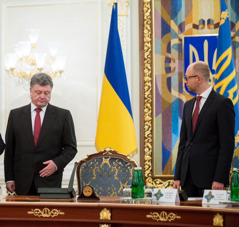 Премьер задействовал СБУ в противостоянии с президентом