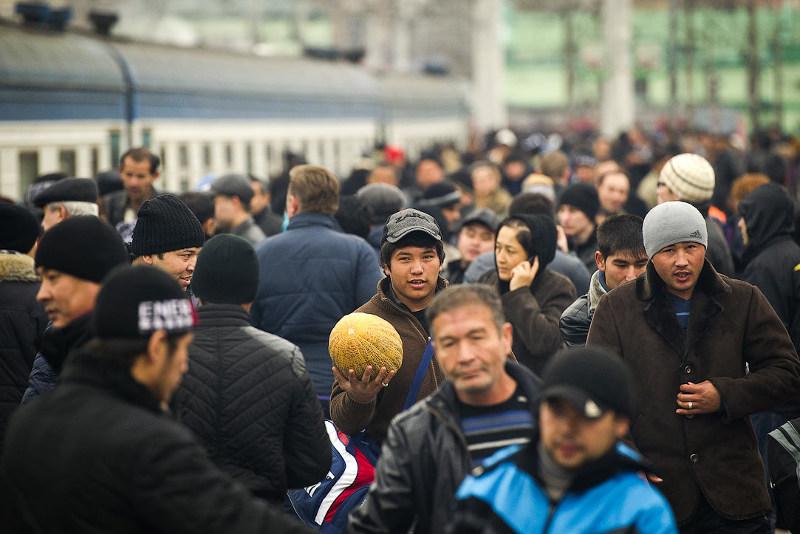 Экономический кризис лишает РФ работников из ближнего зарубежья