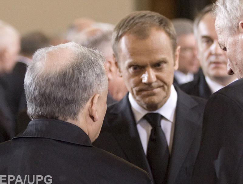 Правительство Польши выступило против переизбрания своего соотечественника главой Европейского Совета
