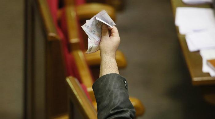 Сколько денег крутится в украинской политике