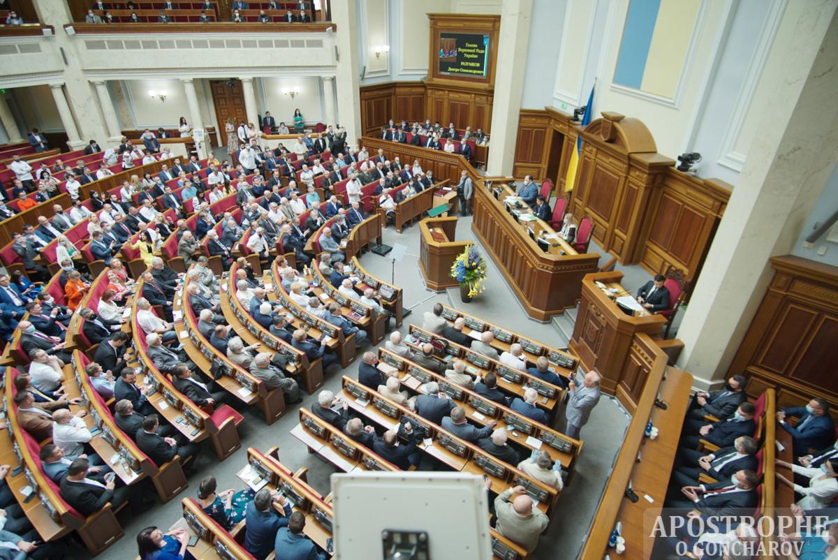 30 лет провозглашению Независимости Торжественное заседание Верховная Рада Зеленский