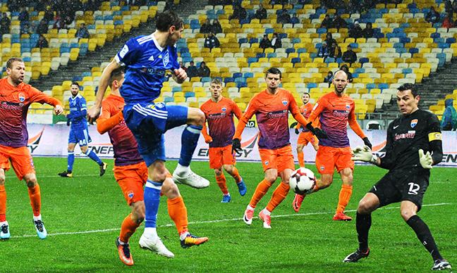 В Киеве прошел матч 30-го тура чемпионата Украины