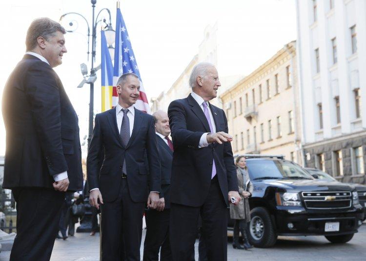 Вице-президент США провел переговоры с украинским президентом и премьер-министром