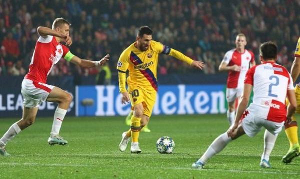 Чемпионы Испании и Чехии встречались в матче Лиги чемпионов