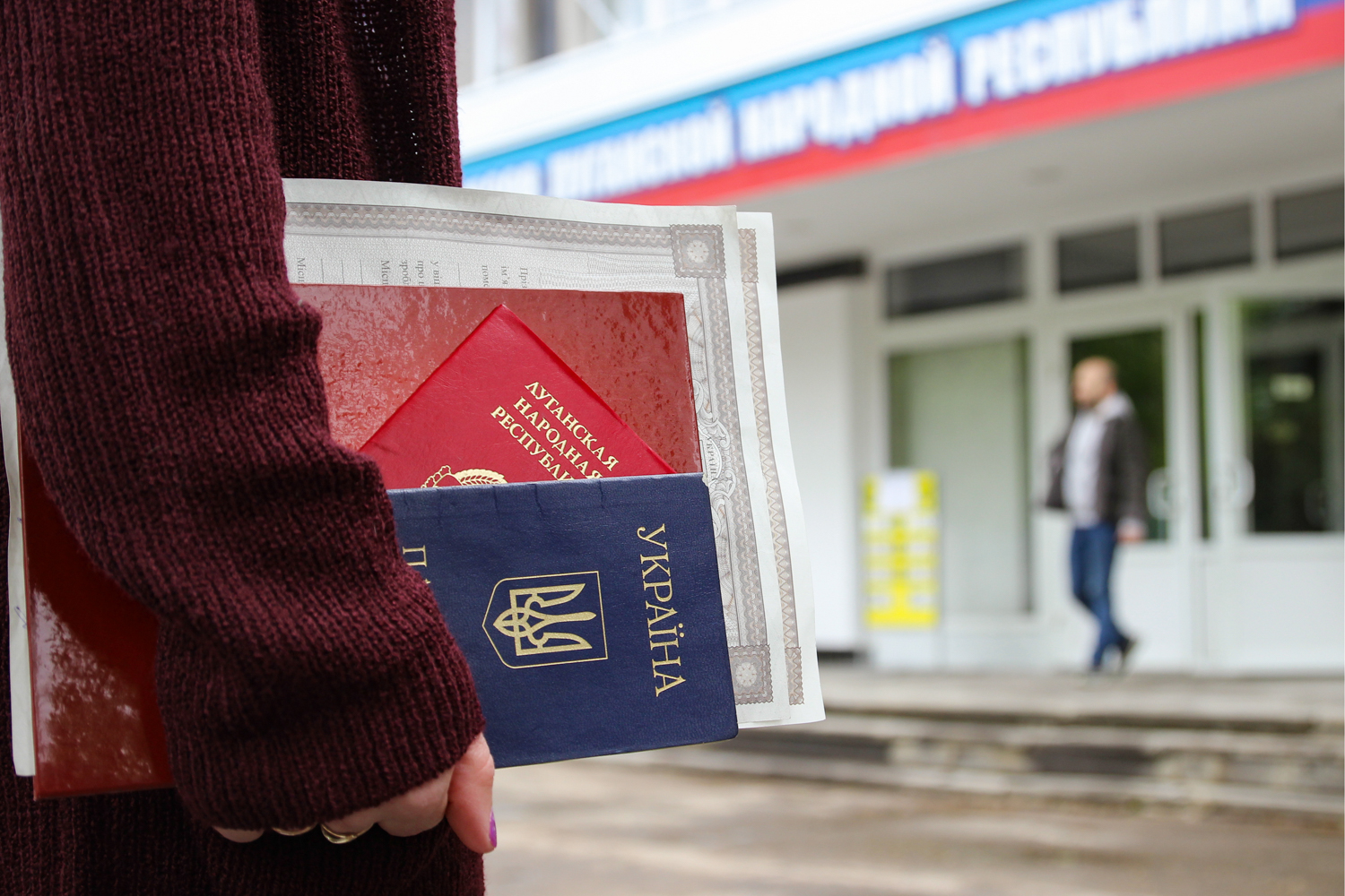 It was quite a hassle to obtain a Russian passport for residents of the isolated districts of the Donetsk and Lugansk regions