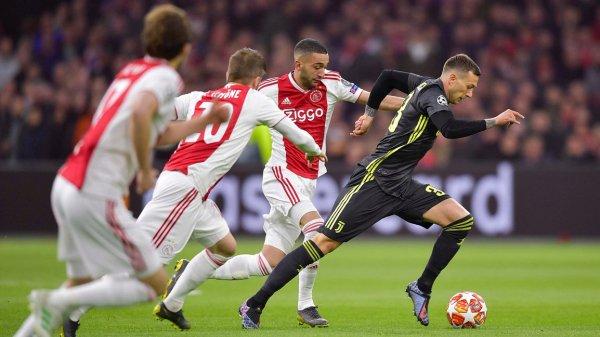 Итальянский и голландский клубы сыграли в четвертьфинале Лиги чемпионов