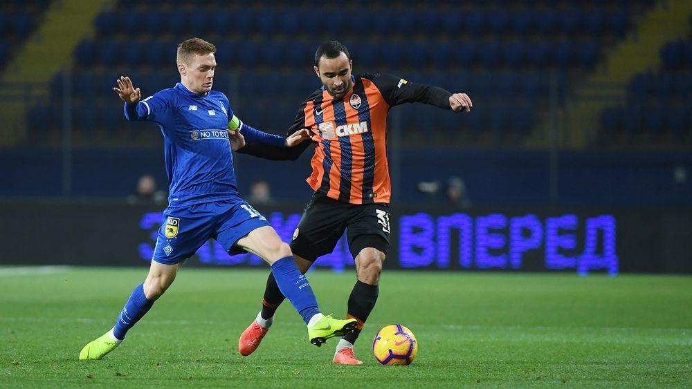 Гранды украинского футбола сыграли в четвертьфинале Кубка Украины