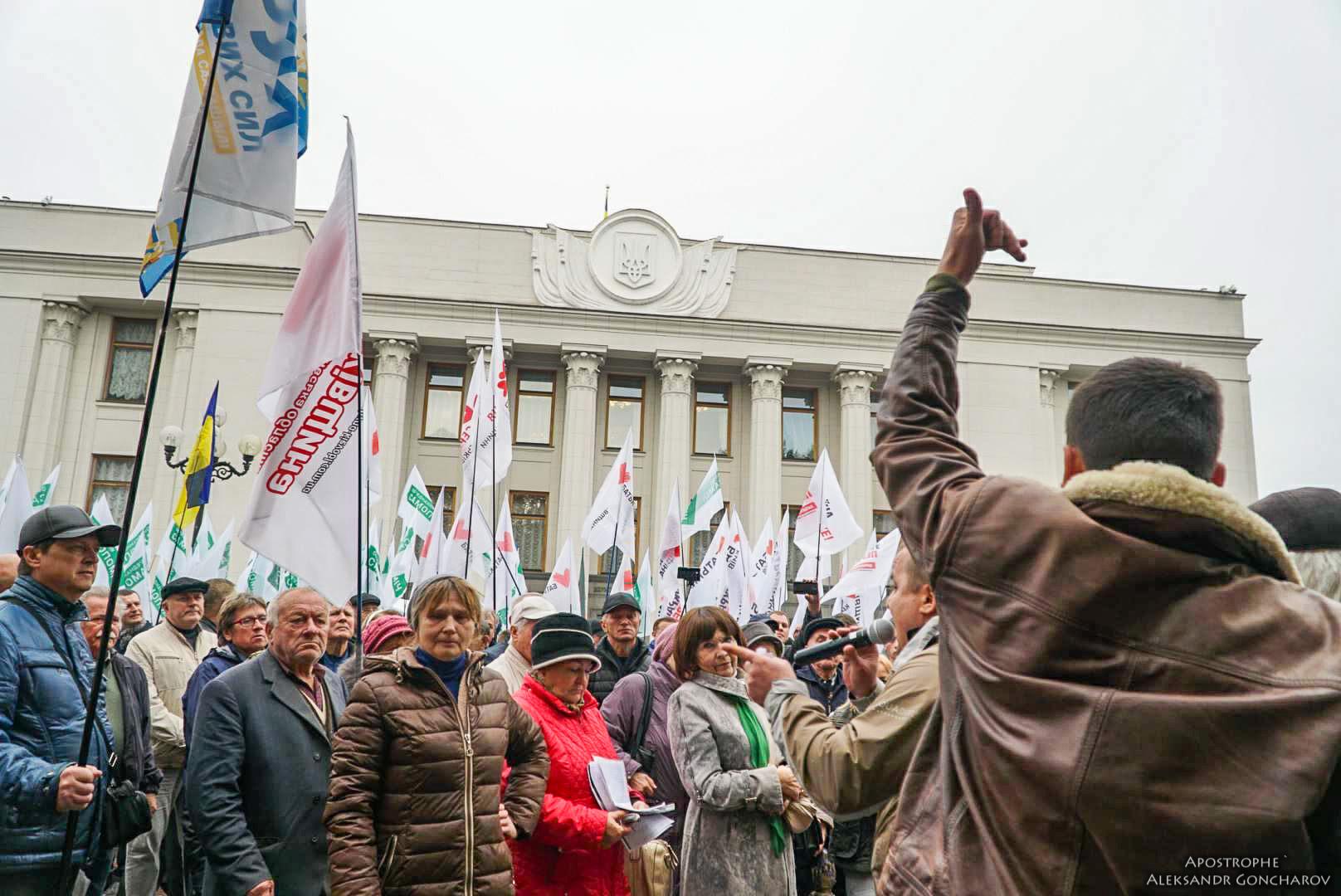 Организаторы протестов обещают в случае необходимости собраться снова