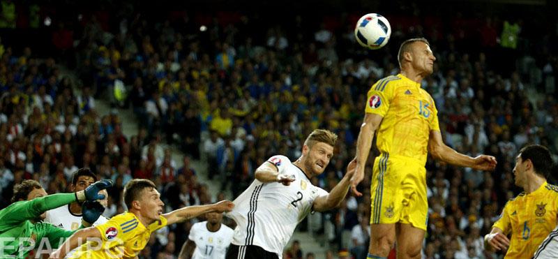 Украинская сборная дебютировала на чемпионате Европы во Франции