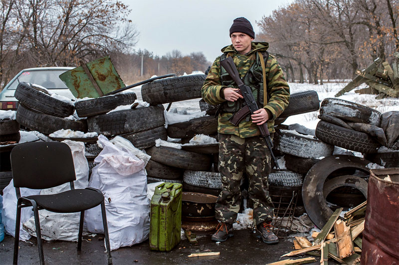 Американский журналист разыскал пропавшего российского военного Петра Хохлова на Донбассе