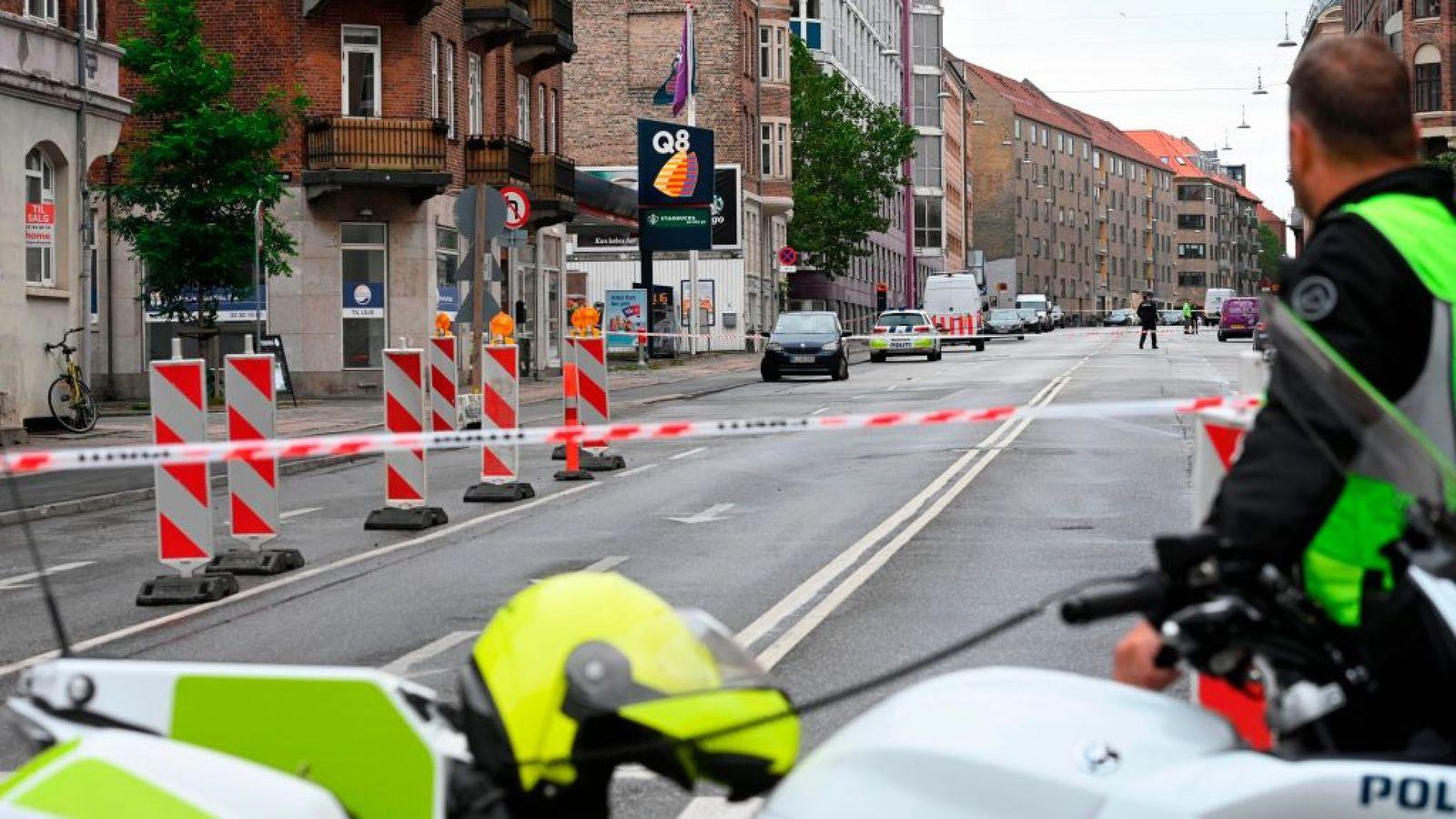 Уздания милиции вКопенгагене прогремел очередной взрыв