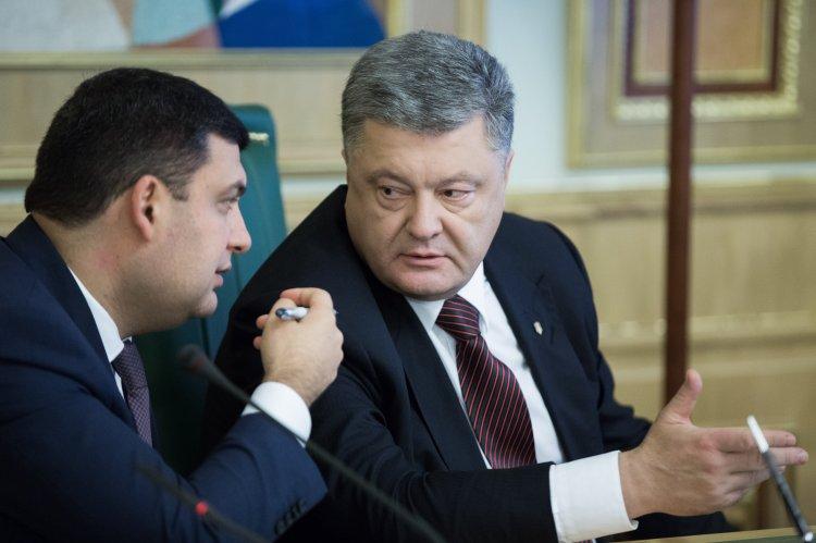 Картинки по запросу Порошенко и Гройсман - фото
