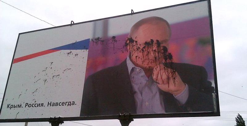 Почему темы Донбасса и Крыма исчезают с российского ТВ