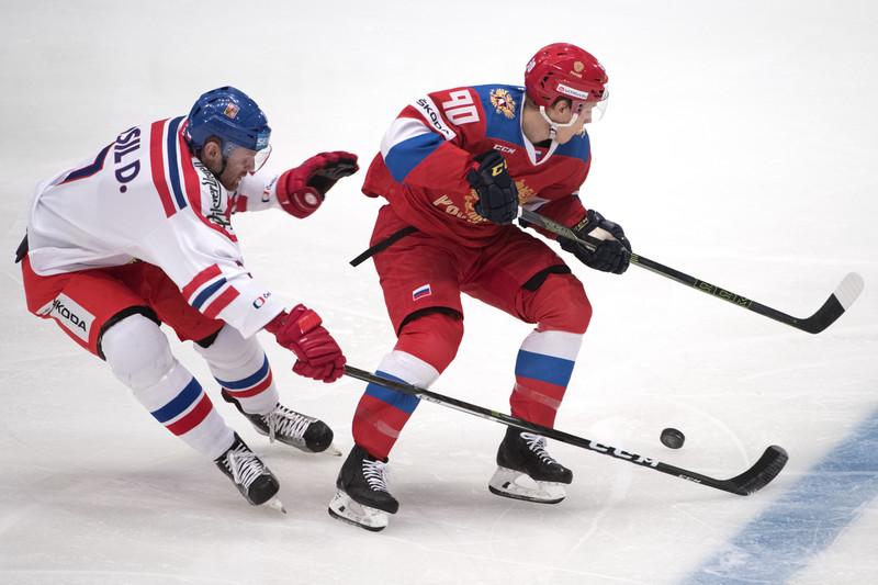 Россияне в четвертом матче турнира уступили чехам