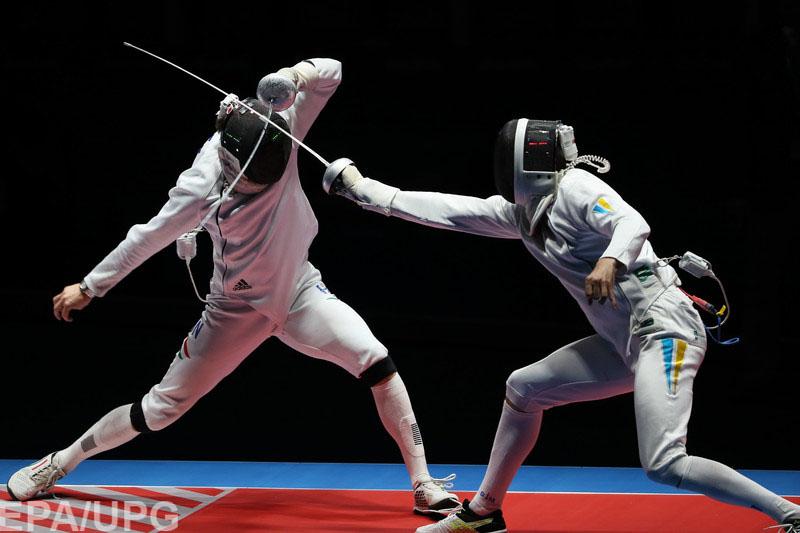 Шпажисты сборной РФ проиграли Украине в ¼ финала Олимпийских игр
