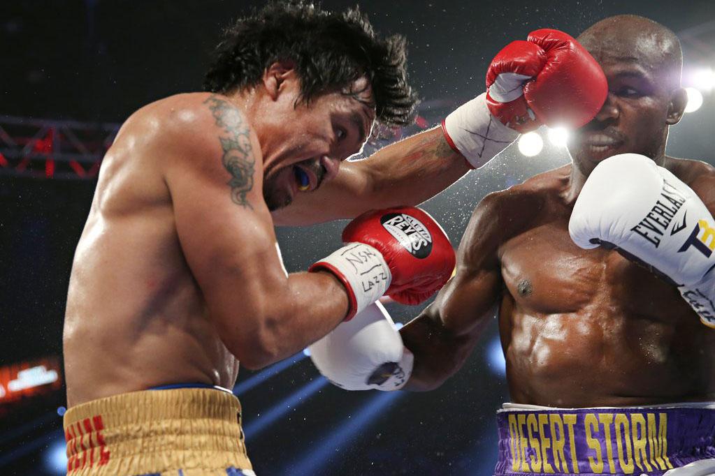 9 апреля в Лас-Вегасе легендарный Пакмэн одержал великолепную победу в своем последний бою в карьере
