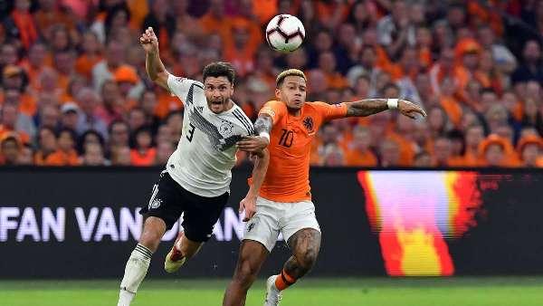 Голландцы уступили немцам в отборочном турнире Евро-2020