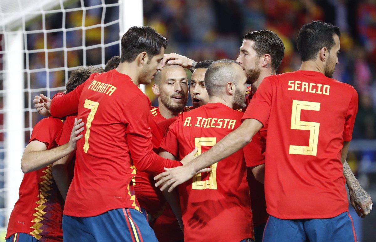 Одна из самых титулованных сборных Европы провел товарищеский матч против России