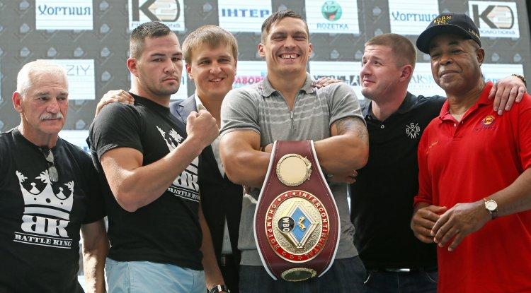 29 августа в Киеве состоится поединок одного из самых популярных боксеров Украины